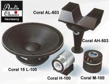 Coral X-15 Lautsprechersystem