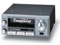 1975 Pioneer Car Stereo Komponenten