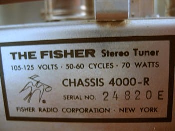 Fisher 4000-R