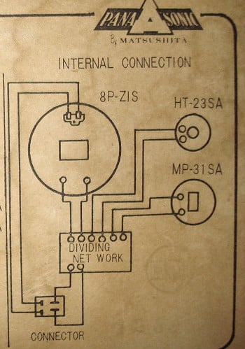 MFB Lautsprecher Panasonic EASB-8M2 von 1961