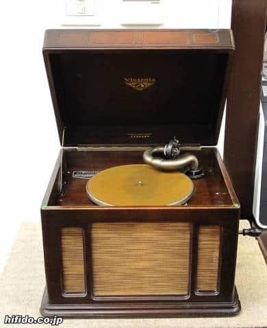 Japans erster im Inland hergestellter Phonograph, Victrola J1-51
